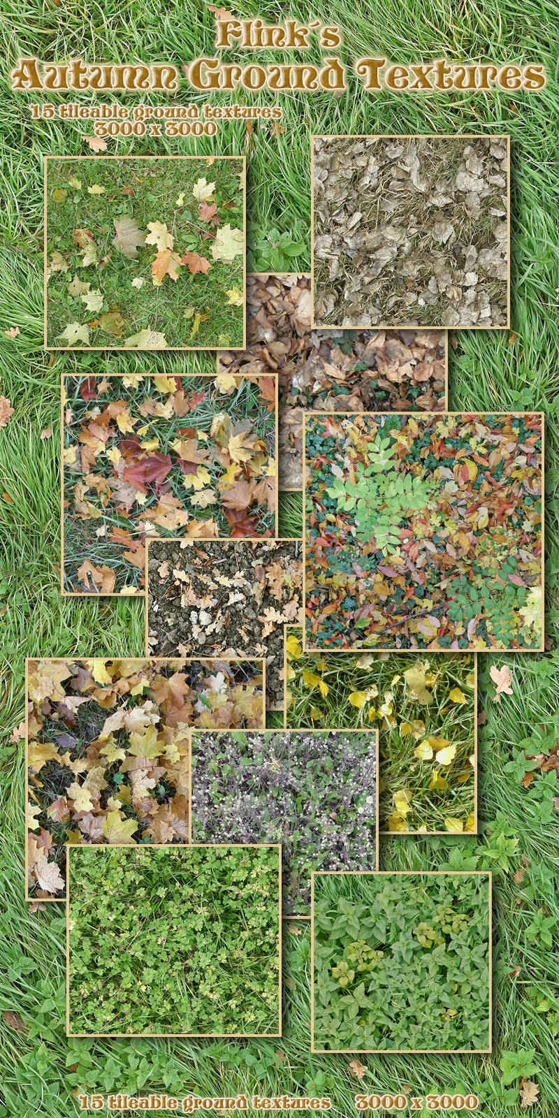 Flinks Autumn Ground Textures