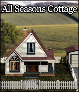 All Seasons Cottage 3D Models RPublishing