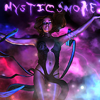 Mystic Smoke 3D Models 2D Graphics designfera