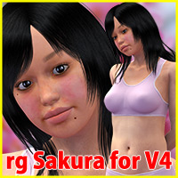 rg Sakura Character for V4 by roogna