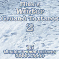 Flinks Winter Ground Textures 2 2D And/Or Merchant Resources Themed Flink