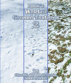 Flinks Winter Ground Textures 2 3D Models 2D Graphics Flink