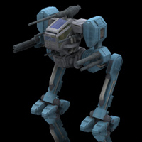 Hawksclaw Robot Mech (for Poser) 3D Models VanishingPoint