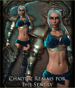 Chaotic Realms for The Sentry 3D Figure Essentials Mihrelle