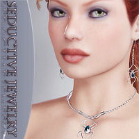 Seductive Jewelry  3D Models 3D Figure Essentials lilflame