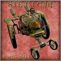 Steam Car  darkvisionary