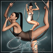Cycle Dance: Poses, Outfit & Props for V4 3D Figure Assets 3D Models outoftouch
