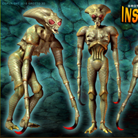 Grotto's Insectoid Phase II for Grotto's Insectoid image 1