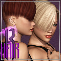 R Hair 3D Figure Essentials outoftouch