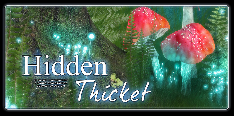 Hidden Thicket Backgrounds