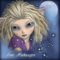 Fae Makeup and Skin Mats for Scampixie 2D Graphics 3DTubeMagic