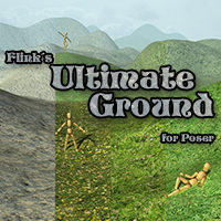 Flinks Ultimate Ground Themed Props/Scenes/Architecture Flink