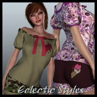 Eclectic Styles for BATs Casual-D  kittystavern