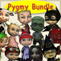 Pygmy Budle 3D Models smay