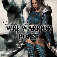 WRI: Warrior Poses 3D Figure Essentials WhiteRavenImages