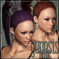 Genesis Hair 3D Figure Essentials outoftouch