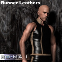Runner Leathers 3D Figure Essentials RO_MAN