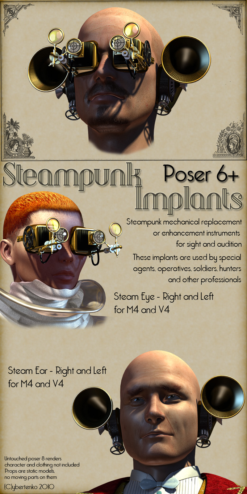 Steampunk Implants