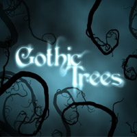 Gothic Trees 3D Models 2D Graphics designfera