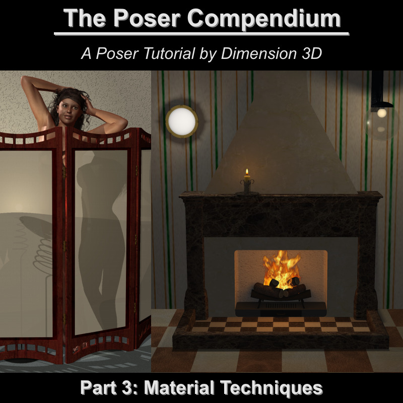 Material Techniques - The Poser Compendium Part 3