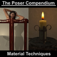 Material Techniques - The Poser Compendium Part 3 Tutorials : Learn 3D Dimension3D