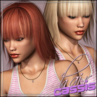 Cassis Hair 3D Figure Essentials outoftouch