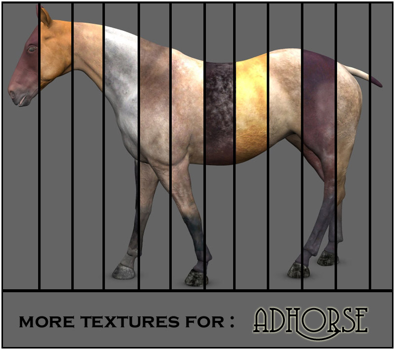 More textures for adHorse