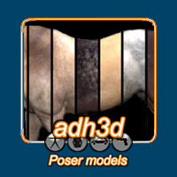 More textures for adHorse 3D Models adh3d