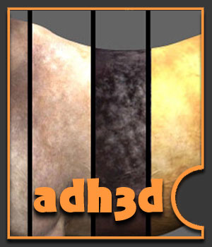 More textures for adHorse by adh3d