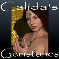 Calida's Gemstone Shader Presets for Daz Studio 3D Figure Essentials Khory_D