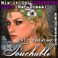 Touchable Adhafera Hair Themed -Wolfie-