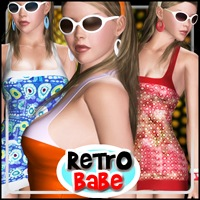 Retro Babe for V4/A4/G4/PBIV 3D Figure Essentials mytilus