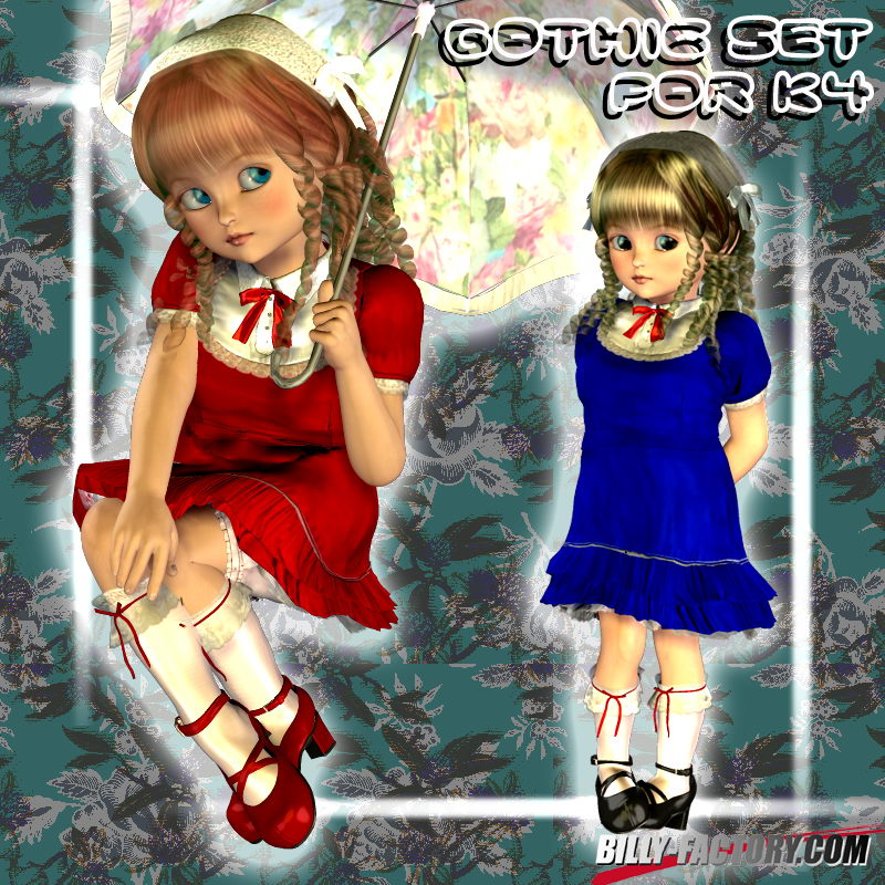 K4 Gothic Set by billy-t