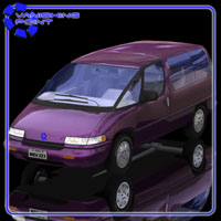Family Minivan (for Poser) Transportation Themed VanishingPoint