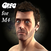 Greg for M4 3D Figure Assets henrika_amanda