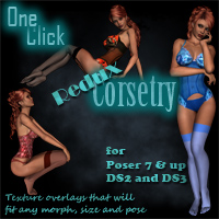 One Click Corsetry Redux Clothing draagonstorm