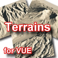 Gleba - Terrains Pack for VUE 3D Models Imaginatos