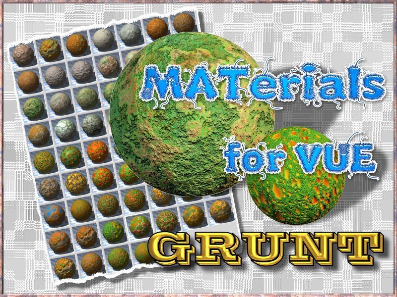Grunt - Materials Pack for VUE