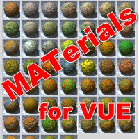 Grunt - Materials Pack for VUE 2D 3D Models Imaginatos