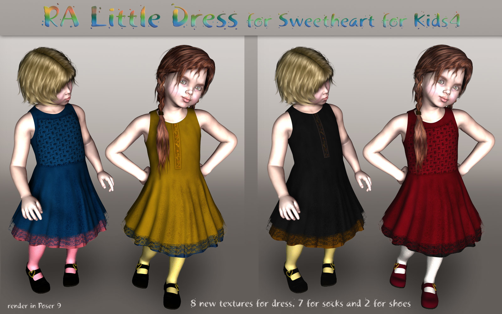 RA Little Dress for Kids4 by RAGraphicDesign