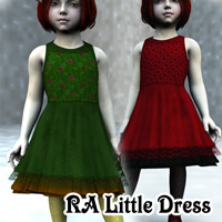 RA Little Dress for Kids4 Clothing Themed RAGraphicDesign