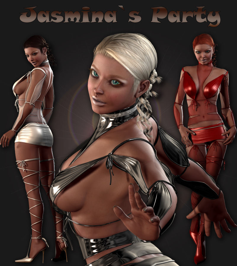 Party Dressing Bundle (V4.2 Elite,Aiko4,GND4)(DS3 and Poser)
