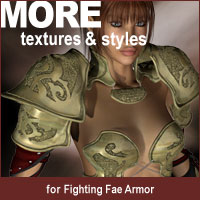 MORE Textures & Styles for Fighting Fae Armor Software Clothing Themed motif