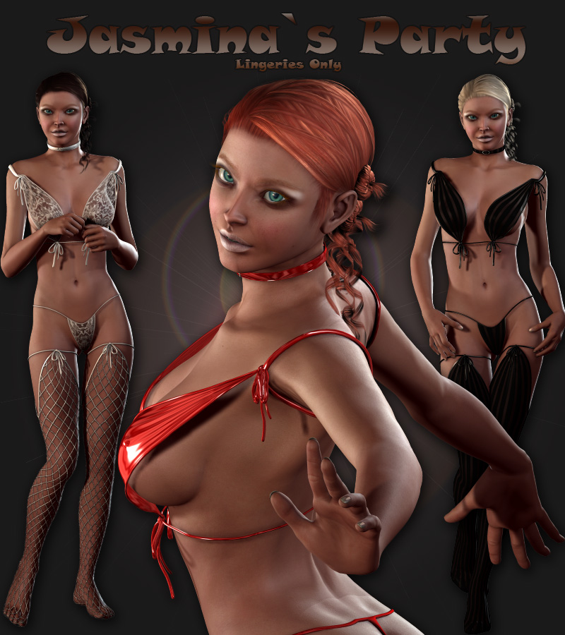 Party Dressing InnerSet (V4.2 Elite,Aiko4,GND4)(DS3 and Poser)
