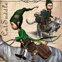 CatSaddle 3D Models smay
