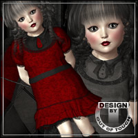 SURRENDER for K4 Gothic Set Themed Clothing outoftouch