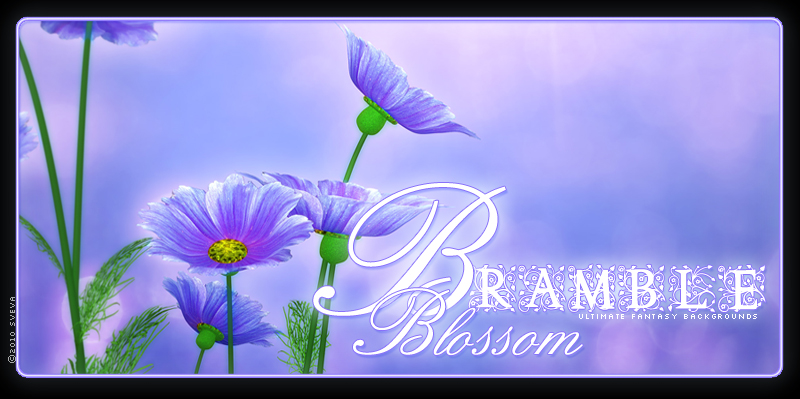 Bramble Blossom Backgrounds