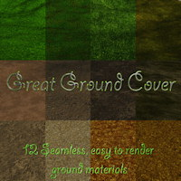 Great Ground Cover 3D Models gillbrooks