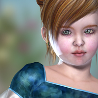 Genevieve 3D Figure Essentials Virtual_World