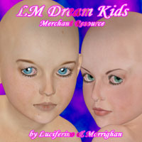 LM DREAM KIDS Merchant Resource 2D Graphics Merchant Resources luciferino